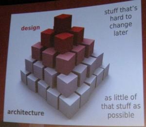 le design et l'architecture