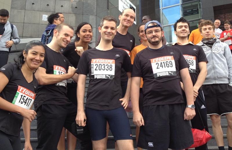 10 km de l'équipe 2013 - départ 2