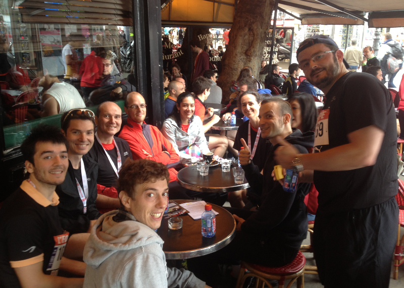 10 km de l'équipe 2013 - finish