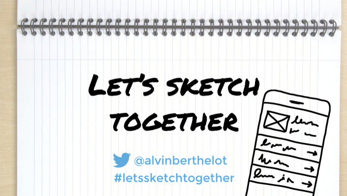 Let's sketch together