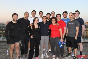 La team Ippon aux côtés de Brahim Asloum