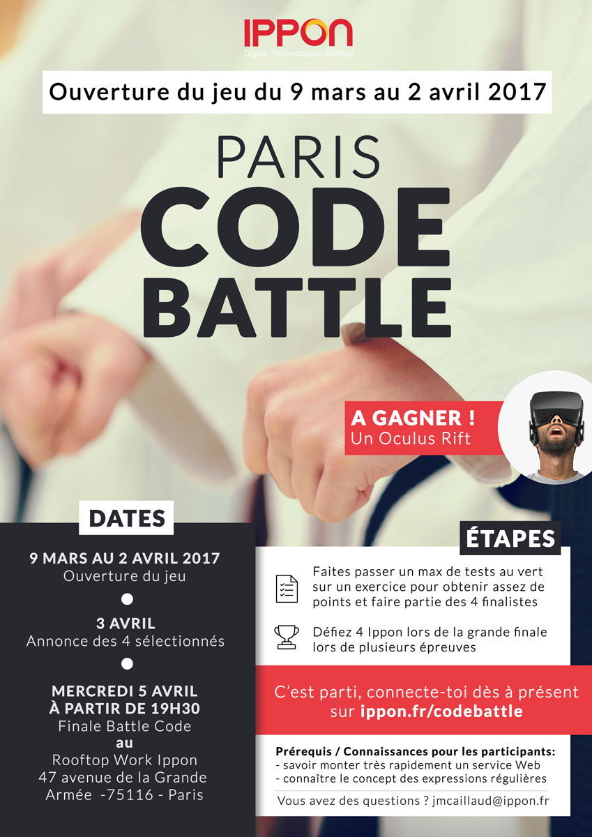 Paris Code Battle 2017